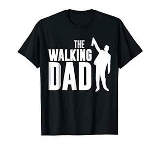 """Mens Great Geek Dad Gifts """"The Walking Dad"""" Men Tee Shirts"""