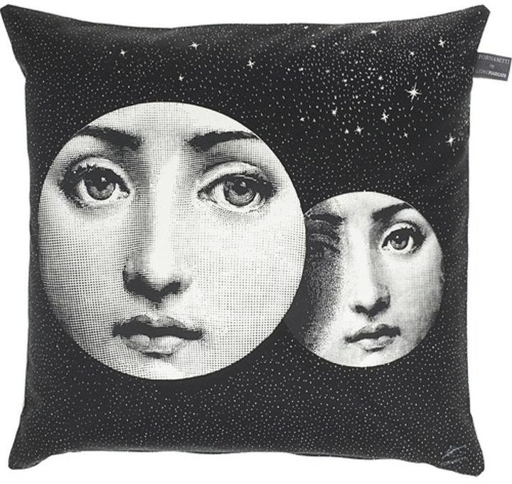 Fornasetti - Themes & Variations Pillow #39- Black/White