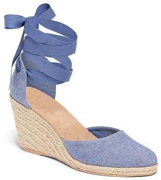Old Navy Chambray Espadrille Wedges for Women