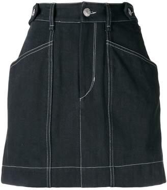 Isabel Marant Gayle denim mini skirt
