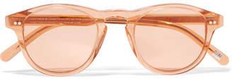 CHIMI - Round-frame Acetate Sunglasses - Peach