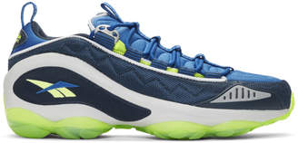 Reebok Classics Blue DMX Run 10 Sneakers