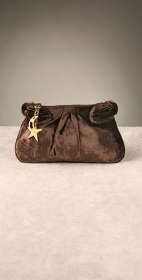 Marc by Marc Jacobs Party Girl Velvet Clutch