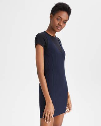 Theory (セオリー) - 【Theory】Bright Viscose Reversible Sweater Dress