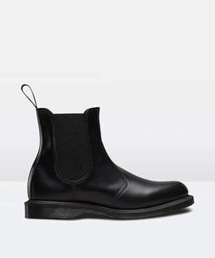 Dr. Martens Flora Chelsea Boot Black