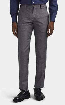Marco Pescarolo MEN'S VOYAGER WOOL TWILL TROUSERS