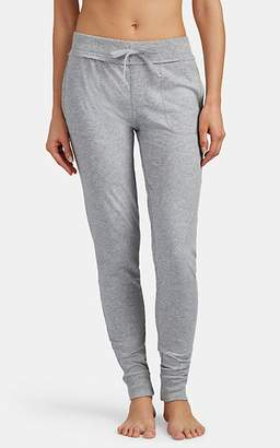 Skin Women's Cotton Jersey Crop Jogger Pants - Gray
