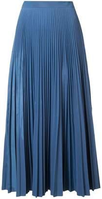 Maison Margiela pleated maxi skirt