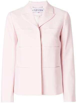 Carven open lapel jacket