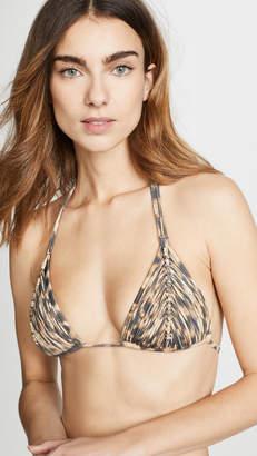 Pilyq Isla Triangle Bikini Top