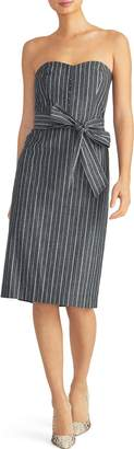 Rachel Roy Collection Stripe Denim Dress