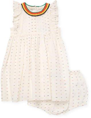 Stella McCartney Apricot Crochet Dress & Bloomer