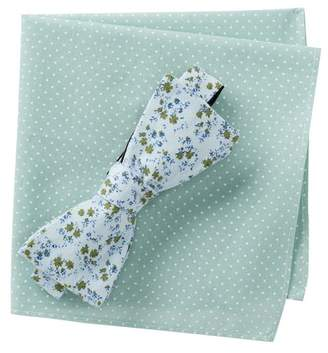 Original Penguin Brinley Floral Bow Tie Set