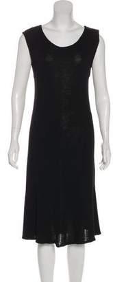 DKNY Scoop Neck Midi Dress