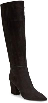 Sergio Rossi Knee-High Leather Boots