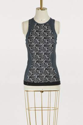adidas by Stella McCartney Printed running tank top