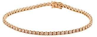 Eva Fehren 18K Diamond Line Bracelet