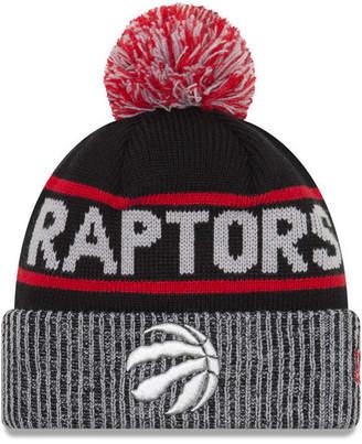 New Era Toronto Raptors Court Force Pom Knit Hat