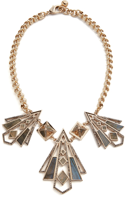 Lulu Frost Odeon Necklace $595 thestylecure.com