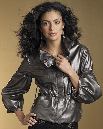 Cinched metallic jacket