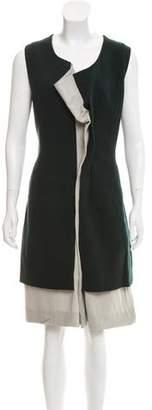 Marni Wool-Blend Knee-Length Dress