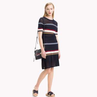 Tommy Hilfiger Short-Sleeve Stripe Dress