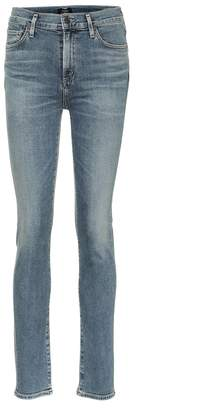 Citizens of Humanity Harlow high-rise slim jeans