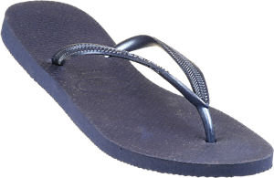 Slim Navy Blue Flip Flop Havaianas Sandals 36-8017