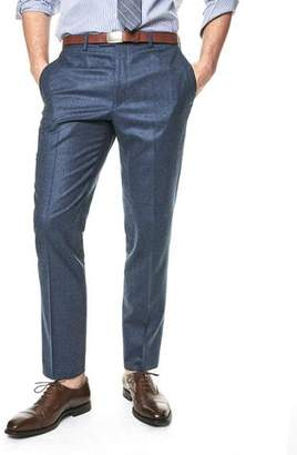 Todd Snyder Black Label Sutton Suit Pant in Italian Petrol Blue Heather Wool Flannel