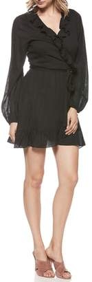 Paige Shawna Ruffle Wrap Dress