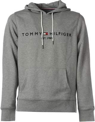 Tommy Hilfiger Drawstring Grey Hoodie