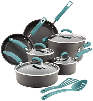 Rachael Ray Hard-Anodized Nonstick 14-Piece Cookware Set