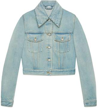 Gucci Denim jacket with patches