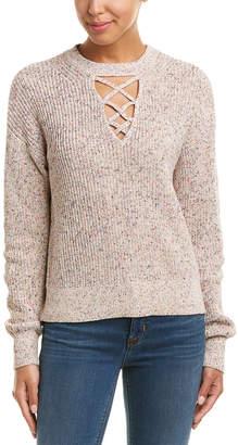 Splendid Cross Front Sweater