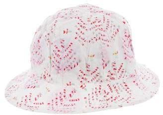 Leon Fleurisse Girls' Printed Sun Hat