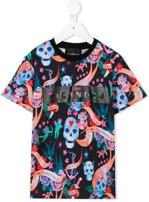 John Richmond Kids multi print T-shirt