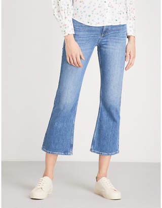 Claudie Pierlot Flared high-rise jeans