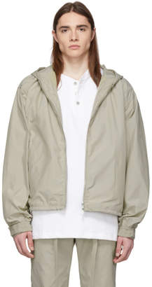 Fear Of God Beige Full-Zip Hooded Jacket