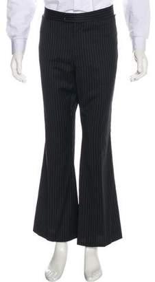 Gucci Striped Wool Dress Pants