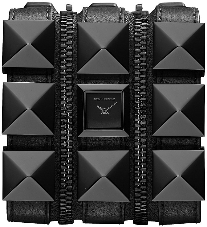 Karl Lagerfeld Zip Watch, 17.5mm