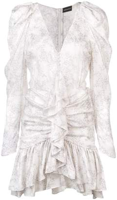 Magda Butrym long-sleeve flared dress