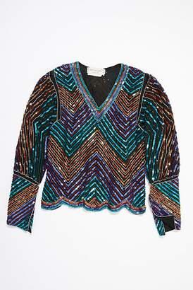 Vintage Loves Vintage 1980s Sequin Blouse