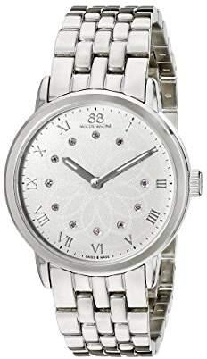 88 Rue du Rhone Women's 87WA140012 Analog Display Swiss Quartz Silver Watch
