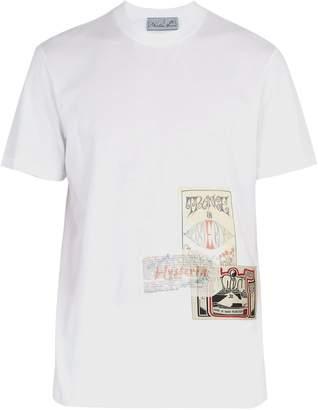 Martine Rose Patchwork flyer cotton-jersey T-shirt