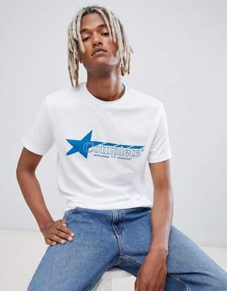 Weekday alan print t-shirt