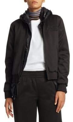 Proenza Schouler PSWL PSWL Women's Jersey Track Jacket - Black - Size XS