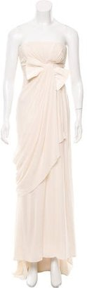 Vera Wang Draped Wedding Dress $795 thestylecure.com