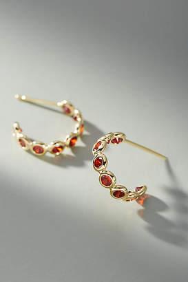 Anthropologie Minuette Hugger Hoop Earrings
