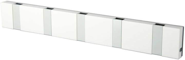 LoCa - Knax Lite 5er Garderobe, Weiß / grau