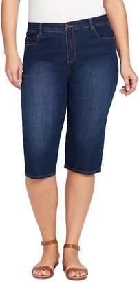 Gloria Vanderbilt Plus Size Amanda Skimmer Capris